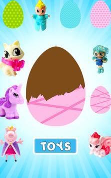 Surprise Eggs for Girls poster