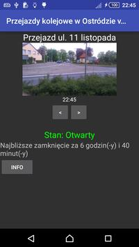 Przejazdy kolejowe Ostróda poster