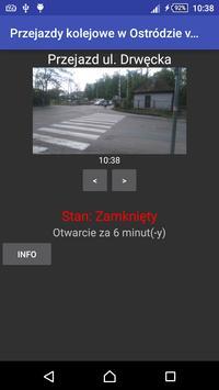 Przejazdy kolejowe Ostróda apk screenshot