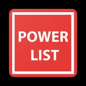 Power List icon
