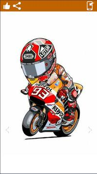 Marc Marquez ArtHd Wallpapers poster