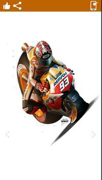Marc Marquez ArtHd Wallpapers apk screenshot