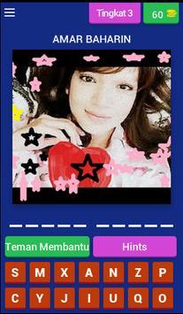 Teka Artis wanita Malaysia apk screenshot