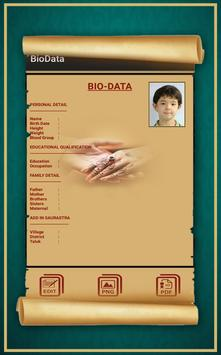 Bio Data Maker apk screenshot