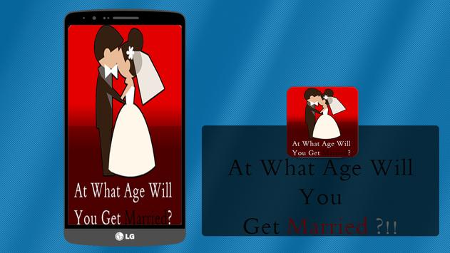 Marriage Age Detector (Prank) poster