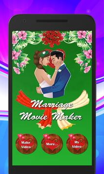 Marriage HD Video Maker poster