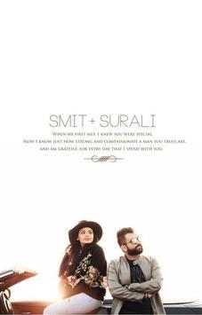 Smit weds surali poster