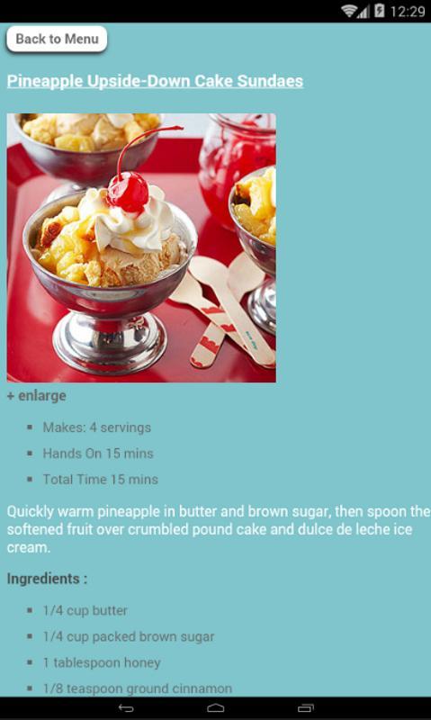 Dessert recipes and procedure descarga apk gratis comer y beber dessert recipes and procedure poster forumfinder Gallery