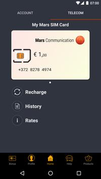 Mars Communication apk screenshot