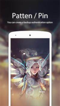 Angel FaceLock theme screenshot 2