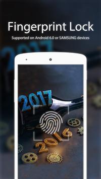 Bottle Fingerprint&Facelock poster