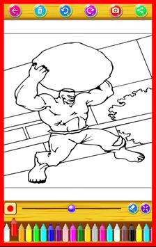 Kids Super Heroes Coloring Book apk screenshot