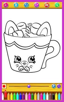 Coloring Book For Sweet Shopkings apk screenshot
