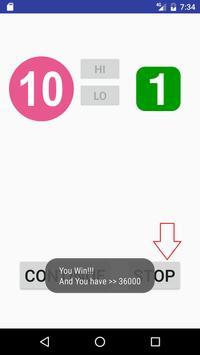 HiLo Go screenshot 5