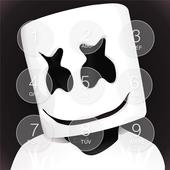 Marshmello Lock Screen icon