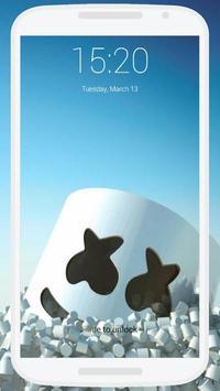 Marshmello Lock Screen screenshot 4