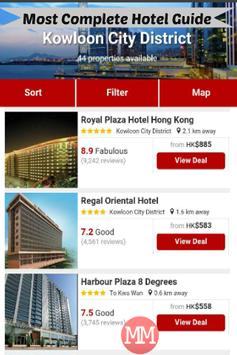 Hong Kong Travel & Hotel Guide apk screenshot