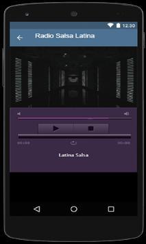 Radio Salsa Online screenshot 1