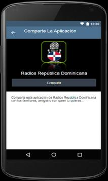 Radios República Dominicana screenshot 3
