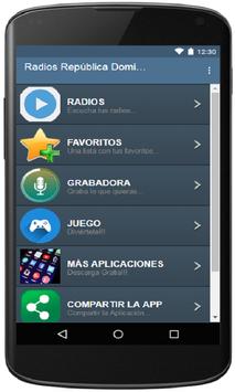 Radios República Dominicana poster