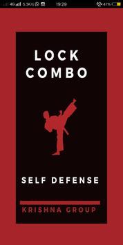 martial art combination poster