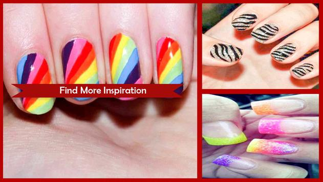 Awesome Different Nail Colors On Fingers screenshot 1