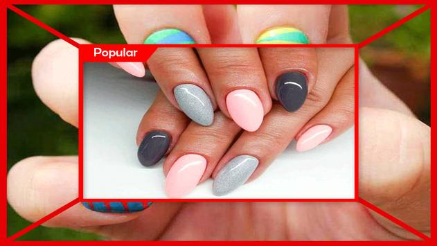 Awesome Different Nail Colors On Fingers screenshot 3