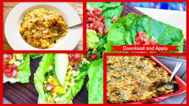 Awesome Easy Vegetarian Recipes Dinner screenshot 2