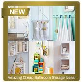 Amazing Cheap Bathroom Storage Ideas icon
