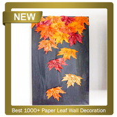 Best 1000+ Paper Leaf Wall Decoration icon