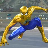 Icona sopravvivenza del supereroe del ragno volante