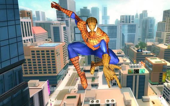 10 Schermata sopravvivenza del supereroe del ragno volante