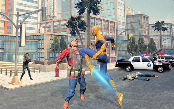 1 Schermata sopravvivenza del supereroe del ragno volante