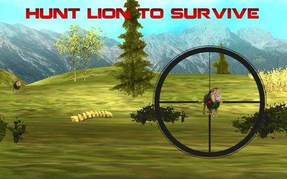 Deadly Lion Hunting poster
