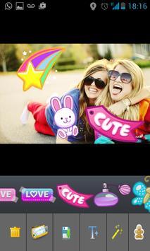 Photo Stickered screenshot 1