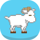Hopsy Goat – 2D Jumping Game icon