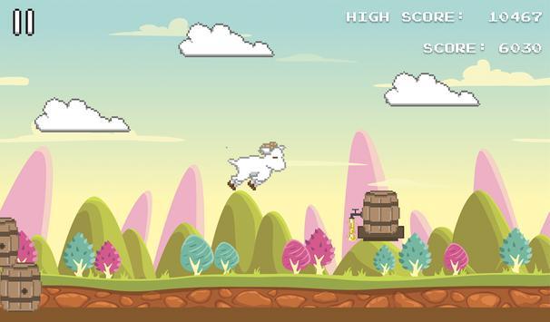 Hopsy Goat – 2D Jumping Game apk screenshot