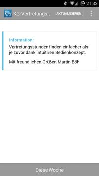 KG-Vertretungsplan apk screenshot