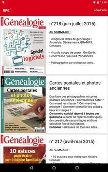 Revue Française de Généalogie poster
