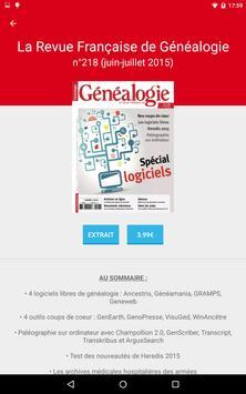 Revue Française de Généalogie apk screenshot