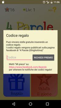 4 Parole apk screenshot