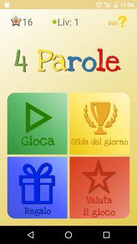 4 Parole poster