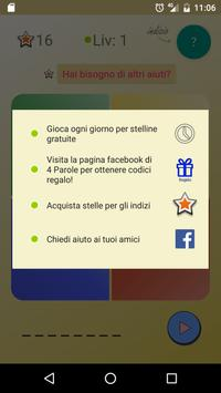 4 Parole apk screenshot