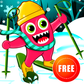 Monster Ski : Winter Skiing icon