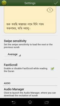 Quran Bangla (বাংলা) apk screenshot
