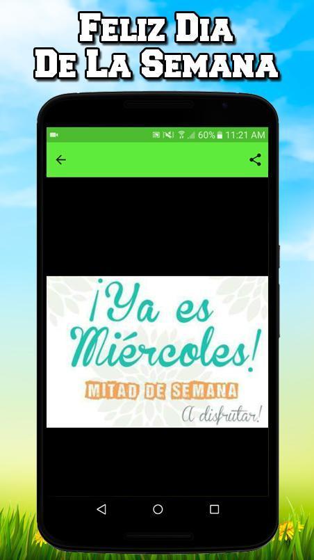 Frases Feliz Dia De La Semana Für Android Apk Herunterladen