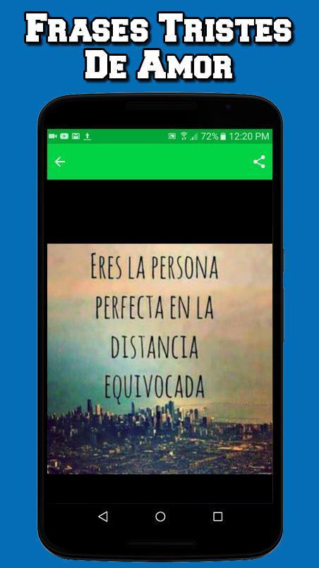 Imagenes Tristes De Amor Con Frases Für Android Apk