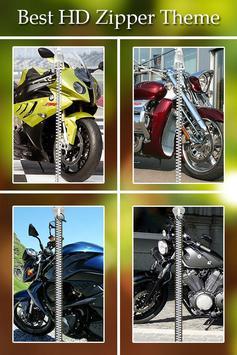 Bike Zipper Lock poster