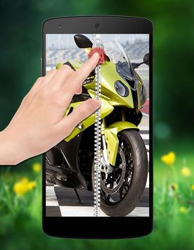 Bike Zipper Lock apk screenshot
