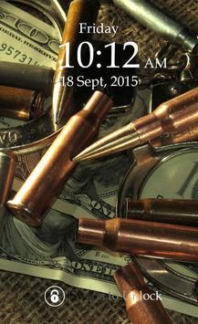 Bullet Keypad Screen Lock poster